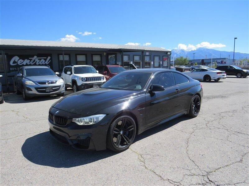 2015 BMW M4 for sale at Central Auto in South Salt Lake UT