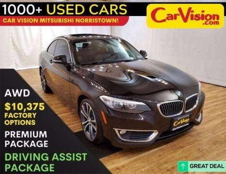 2016 BMW 2 Series for sale at Car Vision Buying Center in Norristown PA