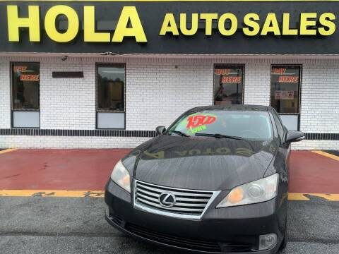 2011 Lexus ES 350 for sale at HOLA AUTO SALES CHAMBLEE- BUY HERE PAY HERE - in Atlanta GA