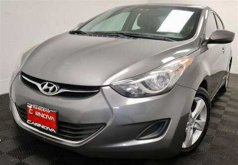 2013 Hyundai Elantra for sale at CarNova in Stafford VA