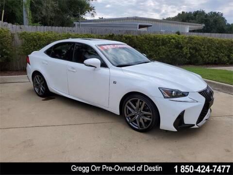 2018 Lexus IS 300 for sale at Gregg Orr Pre-Owned of Destin in Destin FL