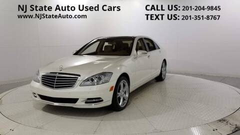 2013 Mercedes-Benz S-Class for sale at NJ State Auto Auction in Jersey City NJ