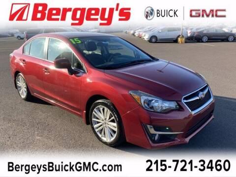 2015 Subaru Impreza for sale at Bergey's Buick GMC in Souderton PA