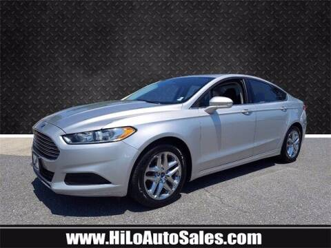 2016 Ford Fusion for sale at BuyFromAndy.com at Hi Lo Auto Sales in Frederick MD