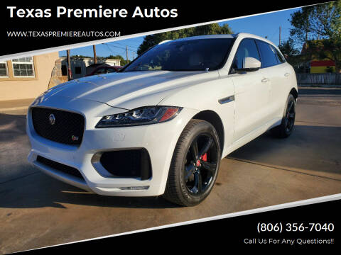 2018 Jaguar F-PACE for sale at Texas Premiere Autos in Amarillo TX