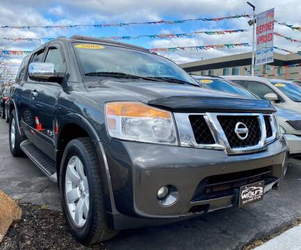 2008 Nissan Armada for sale at WOLF'S ELITE AUTOS in Wilmington DE