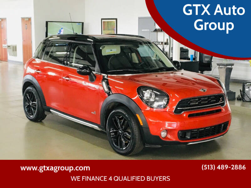 2016 MINI Countryman for sale at GTX Auto Group in West Chester OH