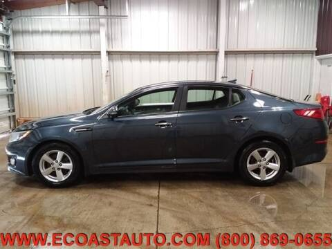 2015 Kia Optima for sale at East Coast Auto Source Inc. in Bedford VA