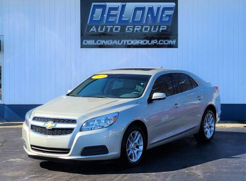 2013 Chevrolet Malibu for sale at DeLong Auto Group in Tipton IN
