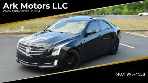 2013 Cadillac ATS for sale at Ark Motors LLC in Winter Springs FL