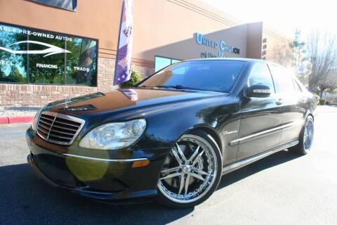2003 Mercedes-Benz S-Class for sale at CK Motors in Murrieta CA