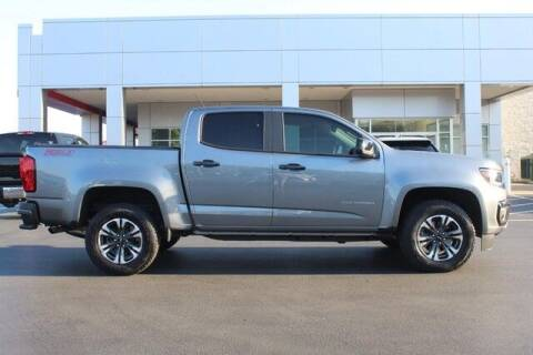 2021 Chevrolet Colorado for sale at Twin City Toyota in Herculaneum MO