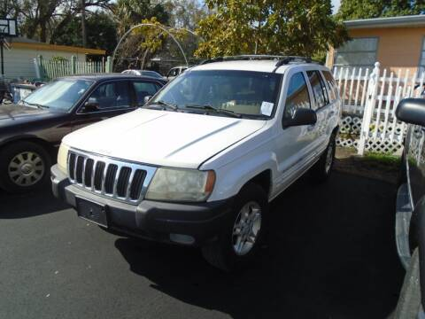 1999 Jeep Grand Cherokee for sale at Bargain Auto Mart Inc. in Kenneth City FL