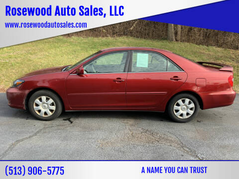 2003 Toyota Camry for sale at Rosewood Auto Sales, LLC in Hamilton OH