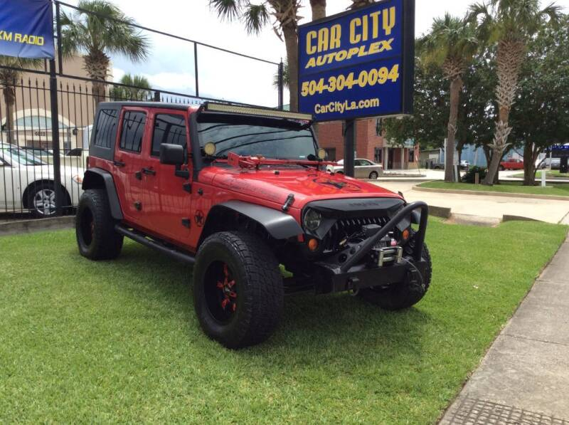 2008 Jeep Wrangler Unlimited for sale at Car City Autoplex in Metairie LA