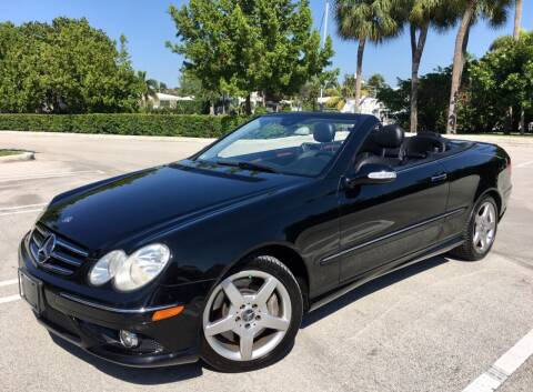 2006 Mercedes-Benz CLK for sale at FIRST FLORIDA MOTOR SPORTS in Pompano Beach FL
