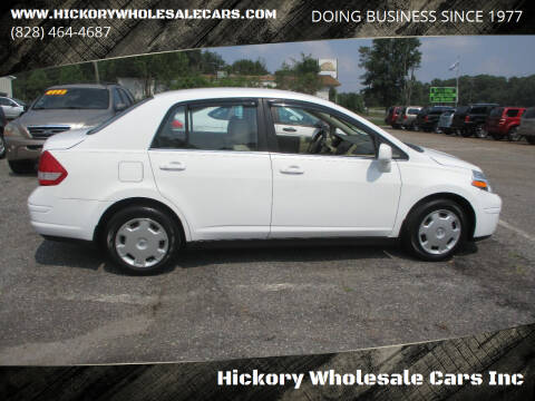 2008 Nissan Versa for sale at Hickory Wholesale Cars Inc in Newton NC