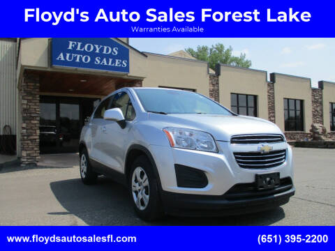 2015 Chevrolet Trax for sale at Floyd's Auto Sales Forest Lake in Forest Lake MN