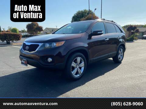 2012 Kia Sorento for sale at Auto Max of Ventura in Ventura CA