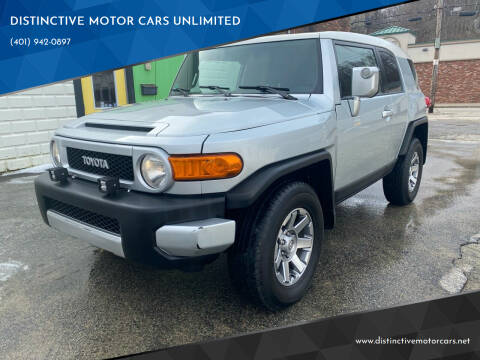 2007 Toyota FJ Cruiser for sale at DISTINCTIVE MOTOR CARS UNLIMITED in Johnston RI