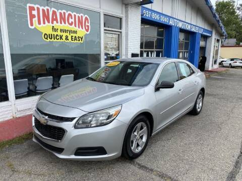 2015 Chevrolet Malibu for sale at AutoMotion Sales in Franklin OH
