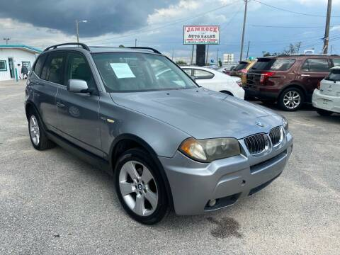 2006 BMW X3 for sale at Jamrock Auto Sales of Panama City in Panama City FL