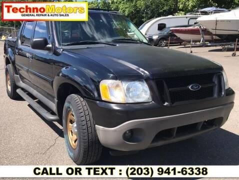 2005 Ford Explorer Sport Trac for sale at Techno Motors in Danbury CT