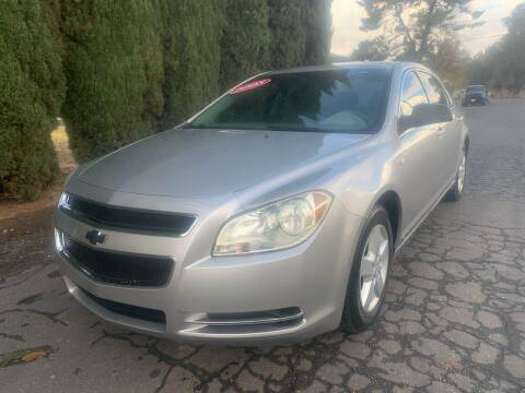 2008 Chevrolet Malibu for sale at River City Auto Sales Inc in West Sacramento CA