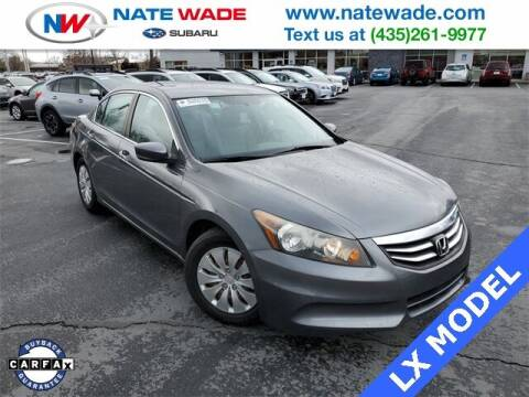 2012 Honda Accord for sale at NATE WADE SUBARU in Salt Lake City UT