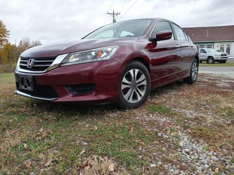 2013 Honda Accord for sale at Sinclair Auto Inc. in Pendleton IN