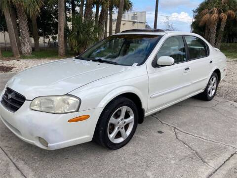 2001 Nissan Maxima for sale at Florida Fine Cars - West Palm Beach in West Palm Beach FL
