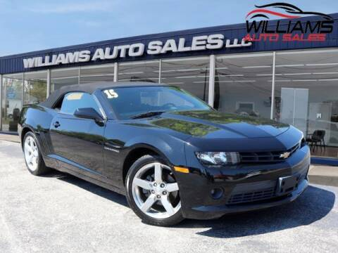 2015 Chevrolet Camaro for sale at Williams Auto Sales, LLC in Cookeville TN