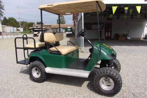1998 EZGO Lifted Golf Cart TXT 4 Passenger Gas for sale at Area 31 Golf Carts - Gas 4 Passenger in Acme PA