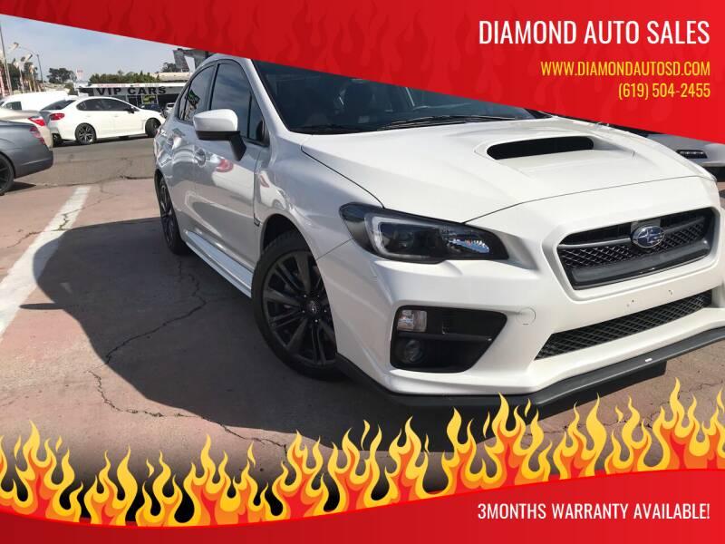 2017 Subaru WRX for sale at DIAMOND AUTO SALES in El Cajon CA