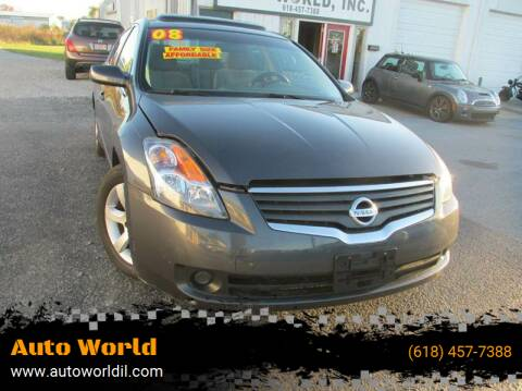 2008 Nissan Altima for sale at Auto World in Carbondale IL