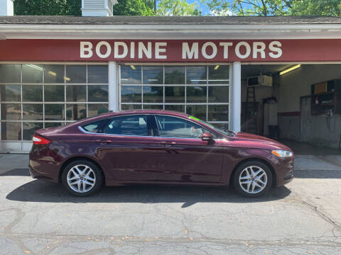 2013 Ford Fusion for sale at BODINE MOTORS in Waverly NY
