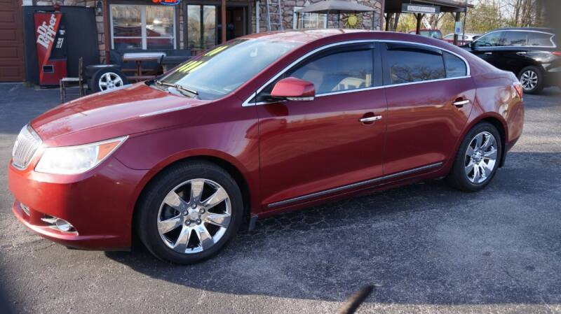 2010 Buick LaCrosse for sale at G & R Auto Sales in Charlestown IN
