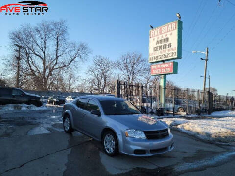 2014 Dodge Avenger for sale at Five Star Auto Center in Detroit MI