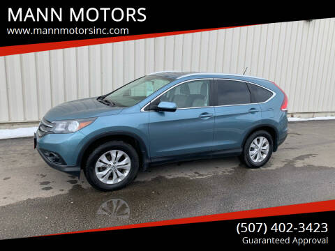 2013 Honda CR-V for sale at MANN MOTORS in Albert Lea MN