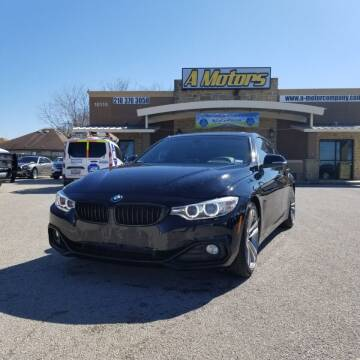 2015 BMW 4 Series for sale at A MOTORS SALES AND FINANCE in San Antonio TX