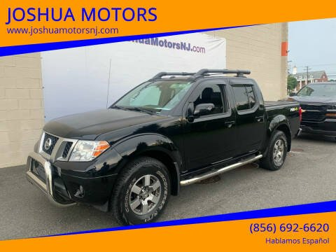 2013 Nissan Frontier for sale at JOSHUA MOTORS in Vineland NJ