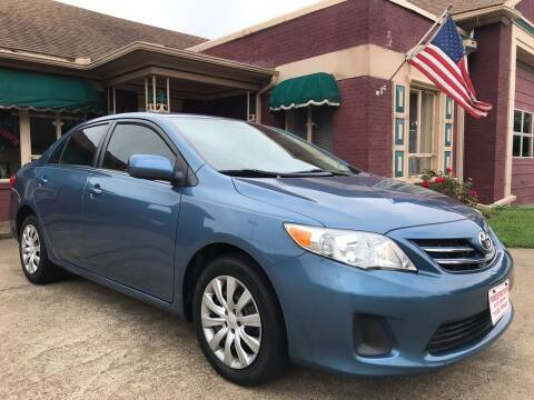 2013 Toyota Corolla for sale at Firestation Auto Center in Tyler TX