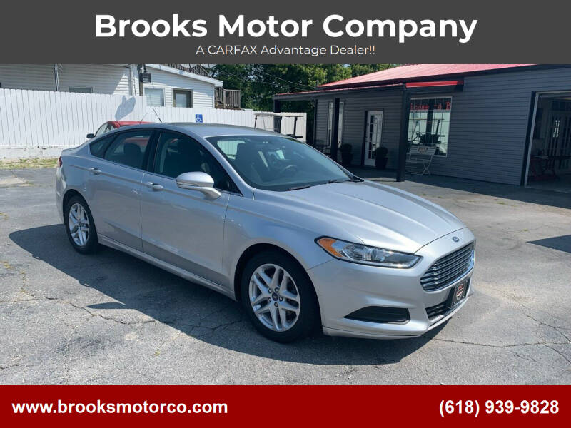 2014 Ford Fusion for sale at Brooks Motor Company in Columbia IL