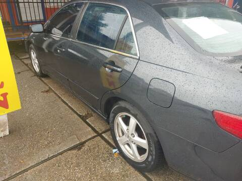 2005 Honda Accord for sale at Finish Line Auto LLC in Luling LA