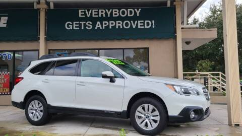 2017 Subaru Outback for sale at Dunn-Rite Auto Group in Longwood FL