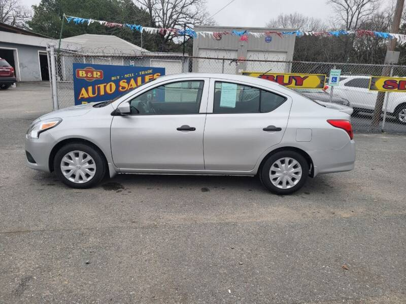 2016 Nissan Versa for sale at B & R Auto Sales in N Little Rock AR