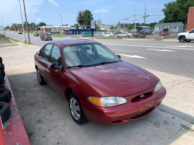 1998 Ford Escort for sale at LINDER'S AUTO SALES in Gastonia NC
