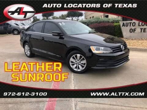 2015 Volkswagen Jetta for sale at AUTO LOCATORS OF TEXAS in Plano TX