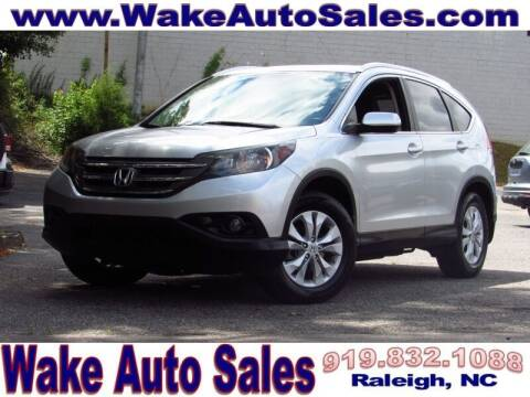 2013 Honda CR-V for sale at Wake Auto Sales Inc in Raleigh NC