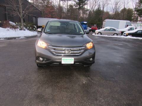2014 Honda CR-V for sale at Heritage Truck and Auto Inc. in Londonderry NH